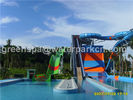 Fiberglass Amusement Ride Aqua Park Swimming Pool Water Slide For Children