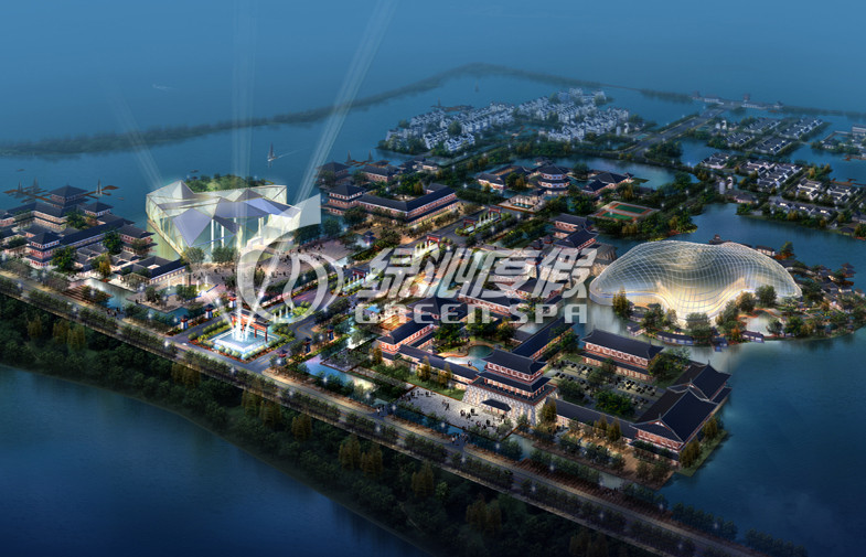 Entertainment water park project for seaside , Water park adults amusement