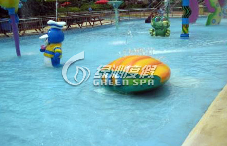 Children / Kids Aqua Park Equipment Fiberglass Shell Spray for Amusement Park Equipment